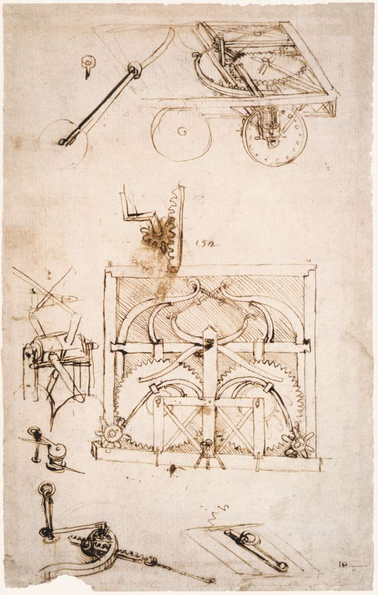 Automobile - by Leonardo da Vinci