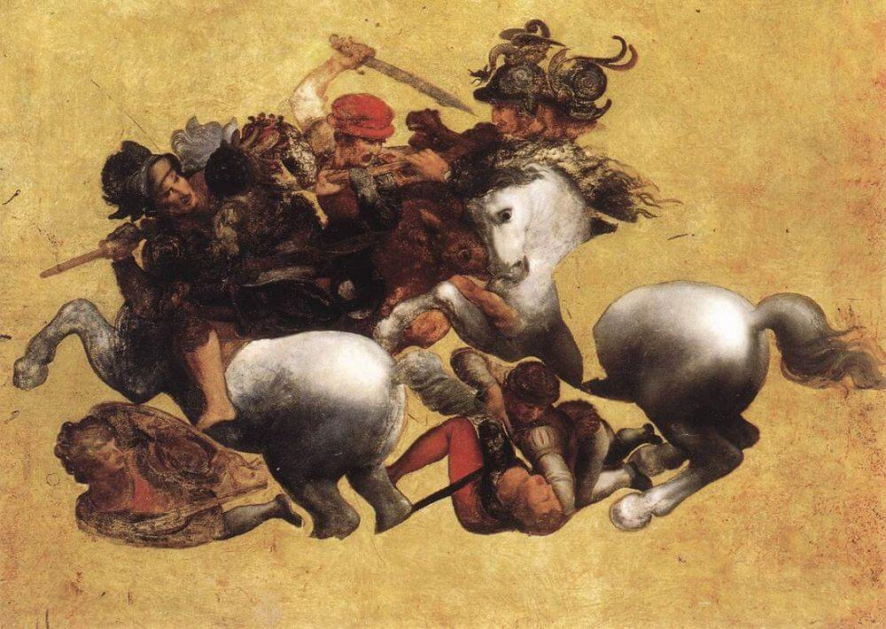 A possible copy of The Battle of Anghiari.